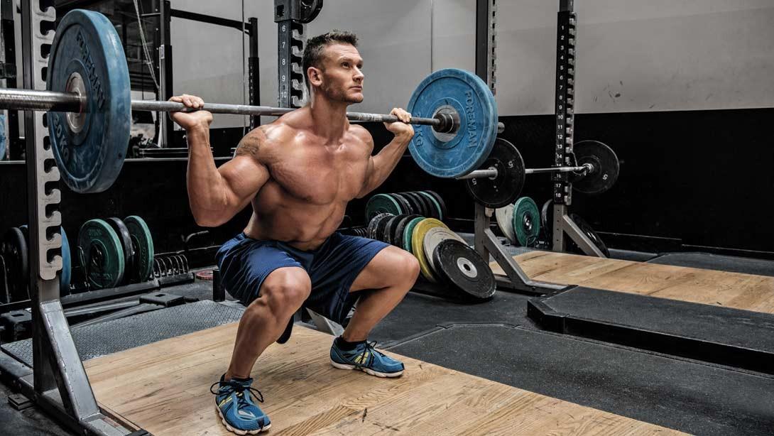 treino de pernas para homens